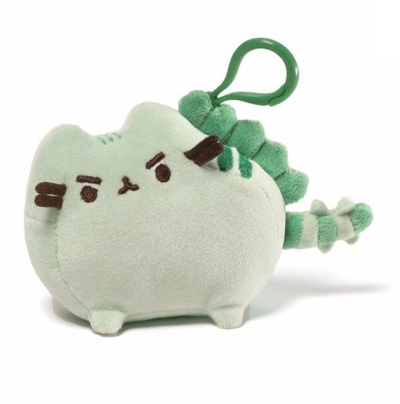 Gund Pusheen Backpack Clip - Gund Pusheenosaurus 4.5 Green