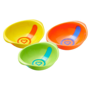 """Munchkin White Hot Toddler Bowls, 3 Count"""