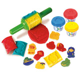 PLAY DOUGH JUMBO ROLLER (3 Colors of Play Dough Included)
