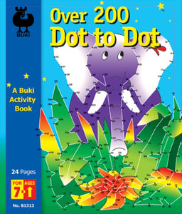 Buki Activity Book Dot to Dot Over 200