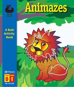 Buki Activity Book Animazes