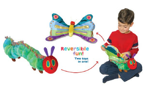 The World of Eric Carle: The Very Hungry Caterpillar Reversible Caterpillar/Butterfly Plush