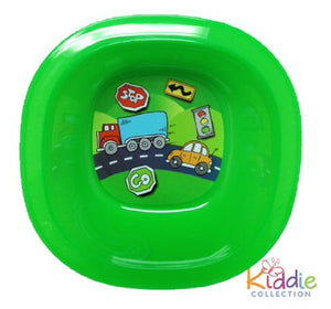 Munchkin Square Printed Toddler Bowl NEW DESIGN