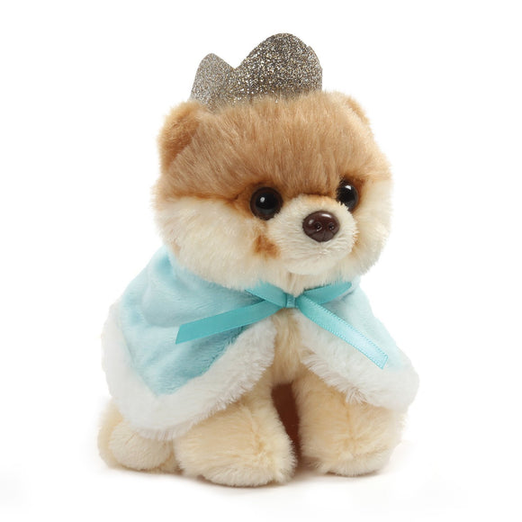 "Gund World's Cutest Dog Itty Bitty Boo #47 Prince Plush, 5""- Blue"