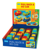 Megcos Toys Pull Back and Go Toy Car PACK OF 12