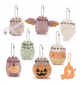 Gund Pusheen Blind Box Series #4 SURPRISE HALLOWEEN KEYCHAIN x 4
