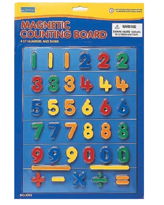 Megcos Toys Magnetic Numbers w/ Board ~BRAND NEW~