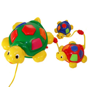 Megcos Toys Pull Along Musical Turtle Family~BRAND NEW~
