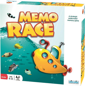 Memo Race Underwater Memory Game by Kod Kod