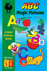 Buki Activity Book ABC Magic Pictures