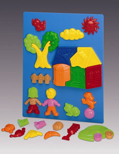 Megcos Toys Magnetic Objects Playset  ~BRAND NEW~