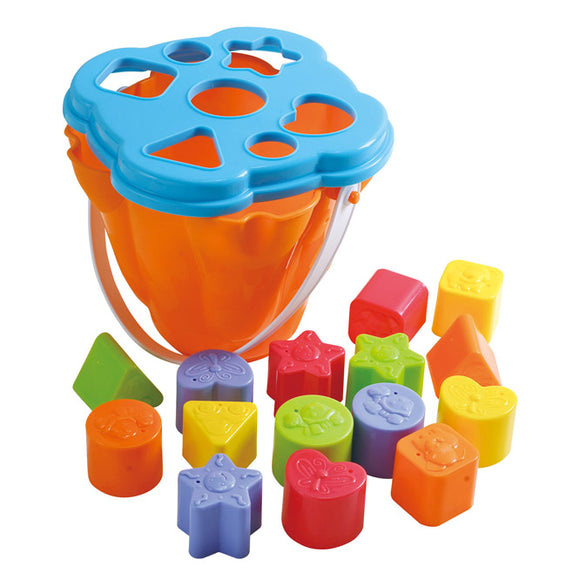 PlayGo SHAPE SORTING ACTIVITY CENTER (15 Pcs In Bucket)