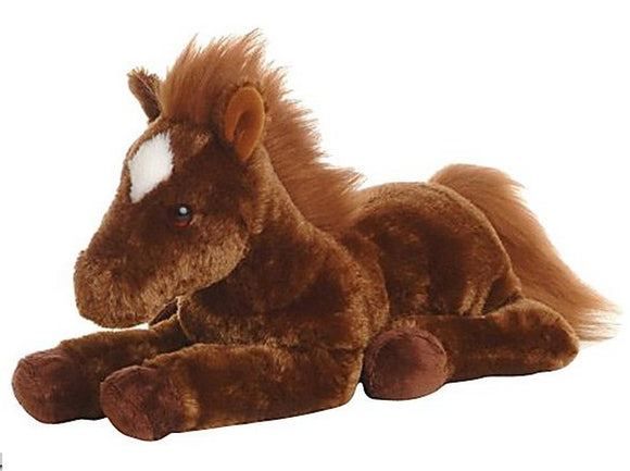 Aurora World Plush Dallas Horse Flopsie - 12