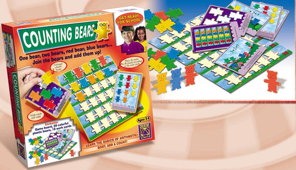 COUNTING BEARS Basic Arithmetic Game