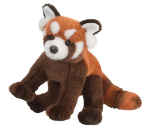 "Douglas Cuddle Toys 11"" CARROTS RED PANDA"