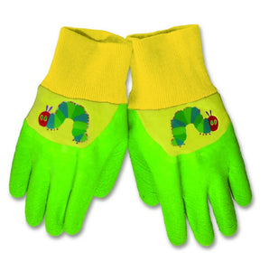 """World of Eric Carle, The Very Hungry Caterpillar Latex Dipped Gardening Gloves by Kids Preferred"""