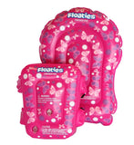 Floaties The Original Kicker and Bubble Set Pink Butterflies