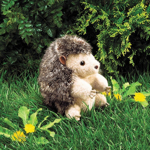 Folkmanis Puppets Plush HEDGEHOG Hand Puppet