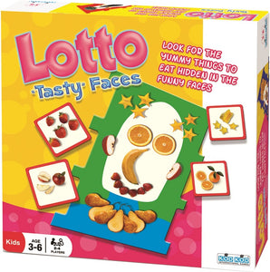 Lotto Tasty Faces Game by Kod Kod