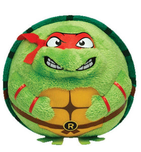 Ty Teenage Mutant Ninja Turtles Beanie Ballz Raphael Red Mask Plush