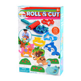 PLAY DOUGH ROLL & CUT (2 Colors of Play Dough Included)