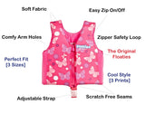 Floaties SWIM VEST PINK BUTTERFLIES LARGE