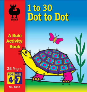 Buki Activity Book 1 to 30 Dot To Dot