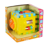 PlayGo Discovery Cube Wind Up Music Toy