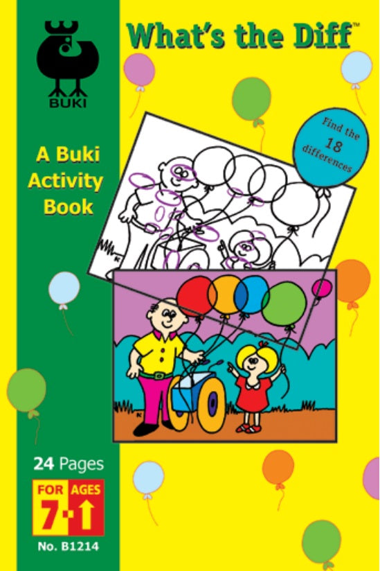 Buki Activity Book What's the Diff?
