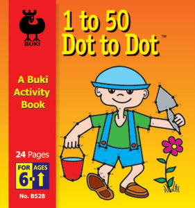 Buki Activity Book 1 to 50 Dot to Dot