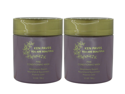Ken Paves Fine Conditioning Mask 5.5oz- 2pack