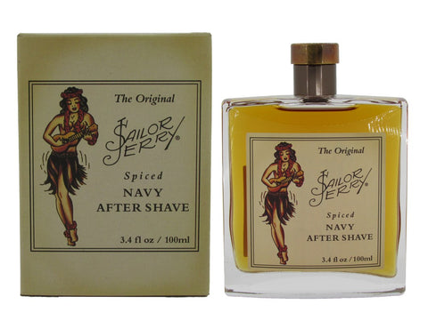 The Original Sailor Jerry Spiced Navy After Shave 3.4 oz