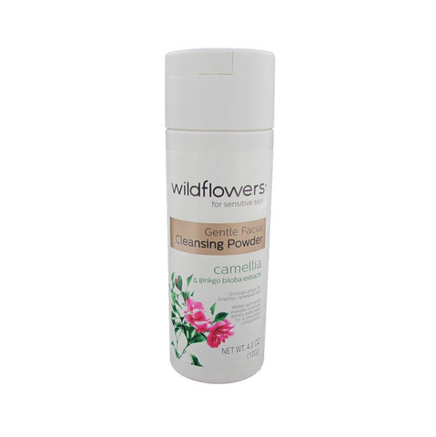 Wildflowers for Sensitive Skin Gentle Facial Cleansing Powder 4.2 oz