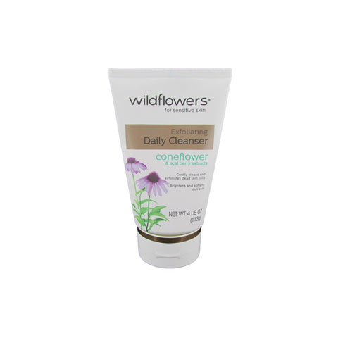 Wildflowers for Sensitive Skin Exfoliating Daily Cleanser 4 oz