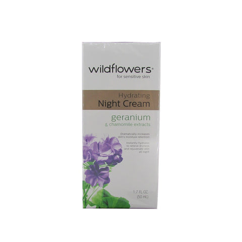 Wildflowers for Sensitive Skin Hydrating Night Cream 1.7 oz