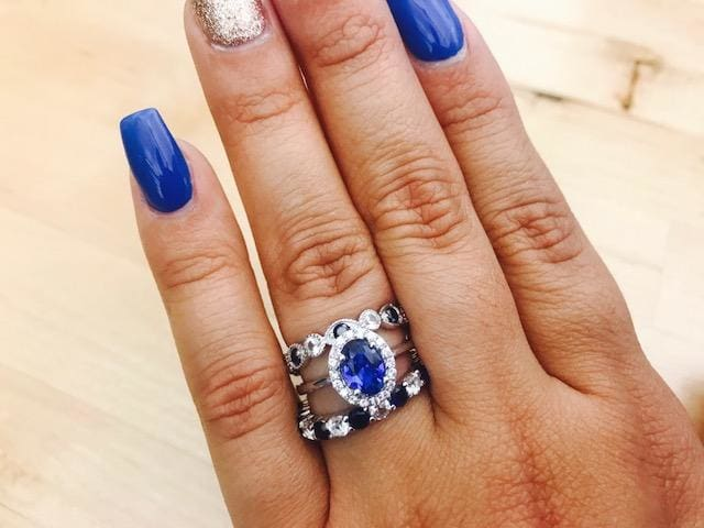Unleash your inner royal with sapphires