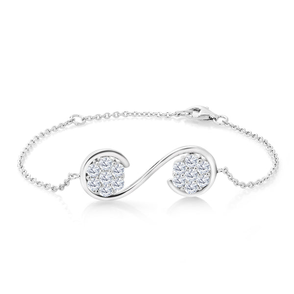 Keren Hanan Inspired by Music 925 Sterling Silver Musical Ornament Bracelet
