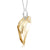 Sterling Silver Angel Wing Pendant Necklace Made with Swarovski® Crystals