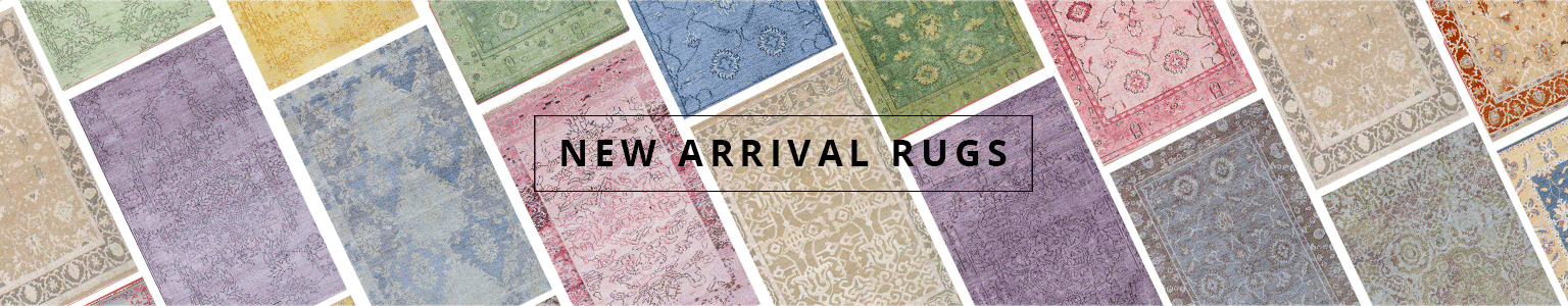 rows of new rugs