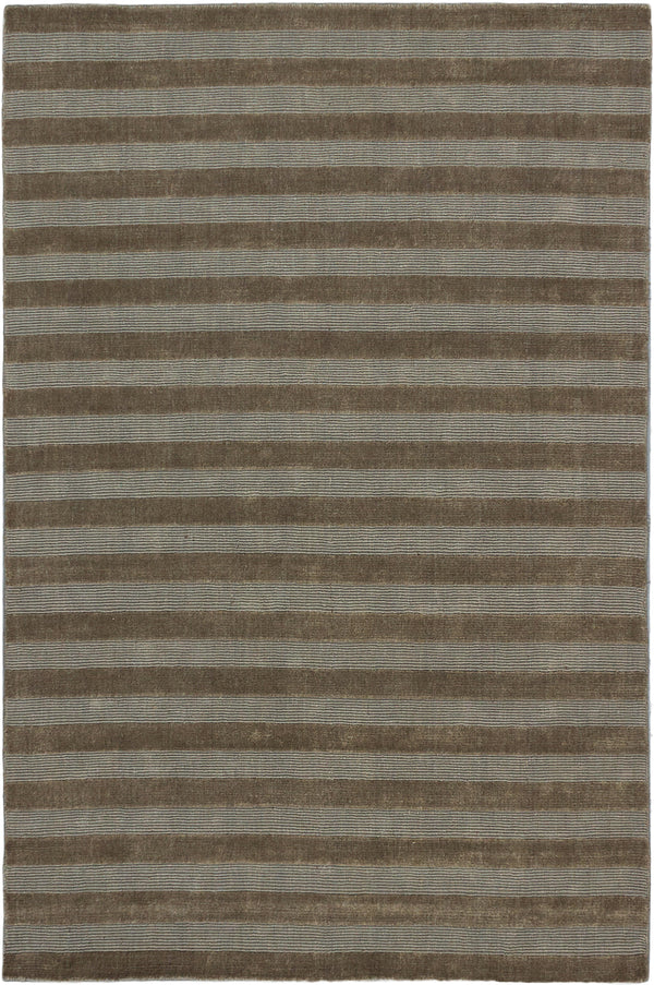 "Hand-knotted Indian Carved  Transitional Luribaft-Gabbeh-Riz Area rug  Beige 5'2 x 7'10"" """