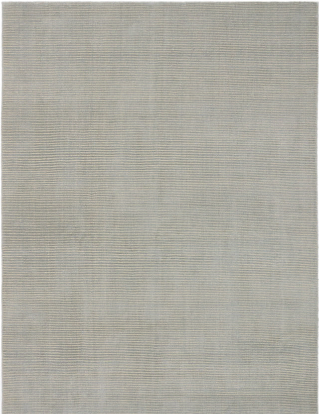 "Hand-knotted  Transitional Shimmer Area rug  Light Grey 6'1 x 9'1"" """