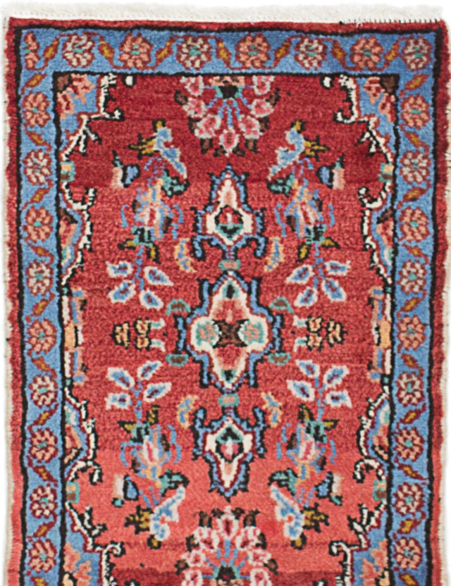 Hand-knotted Area rug Traditional Brown