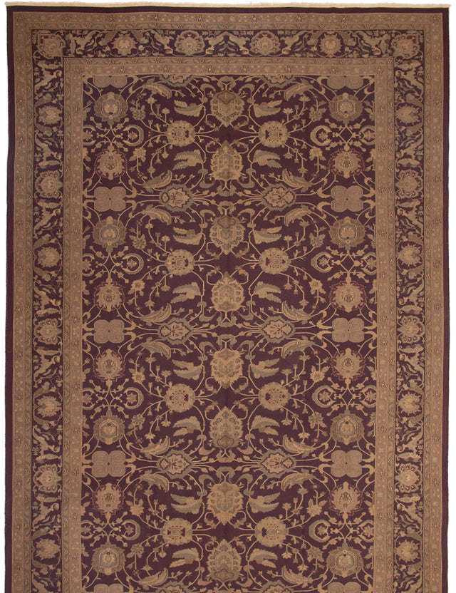 Flat-weave Area rug Bordered, Flat-weaves & Kilims, Floral, Traditional Red