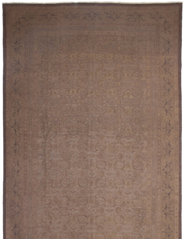 Flat-weave Area rug Bordered, Flat-weaves & Kilims, Floral, Traditional Grey
