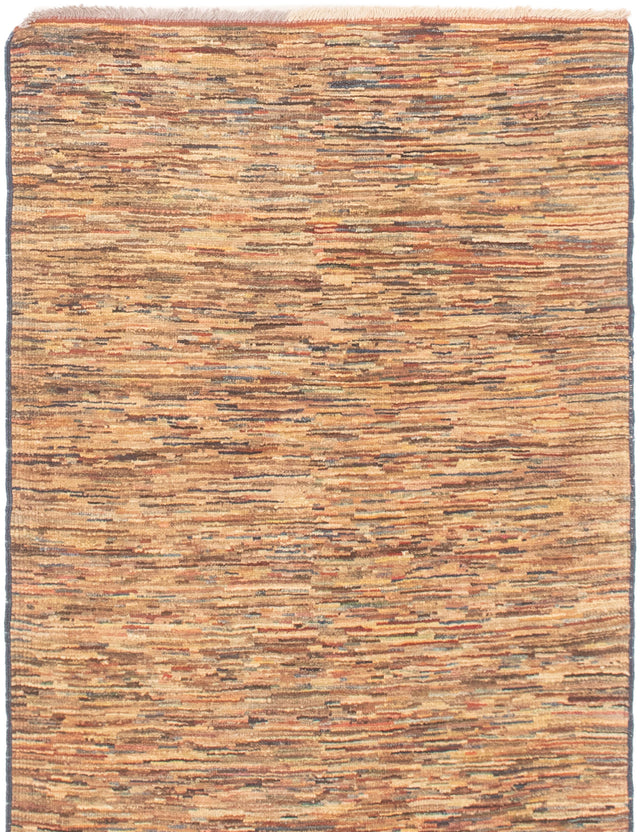 Hand-knotted Area rug Gabbeh, Transitional