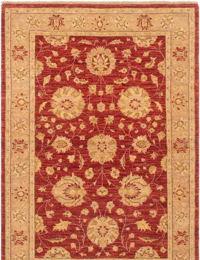 Hand-knotted Area rug Bordered, Floral, Traditional