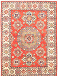 Hand-knotted Area rug Geometric, Traditional