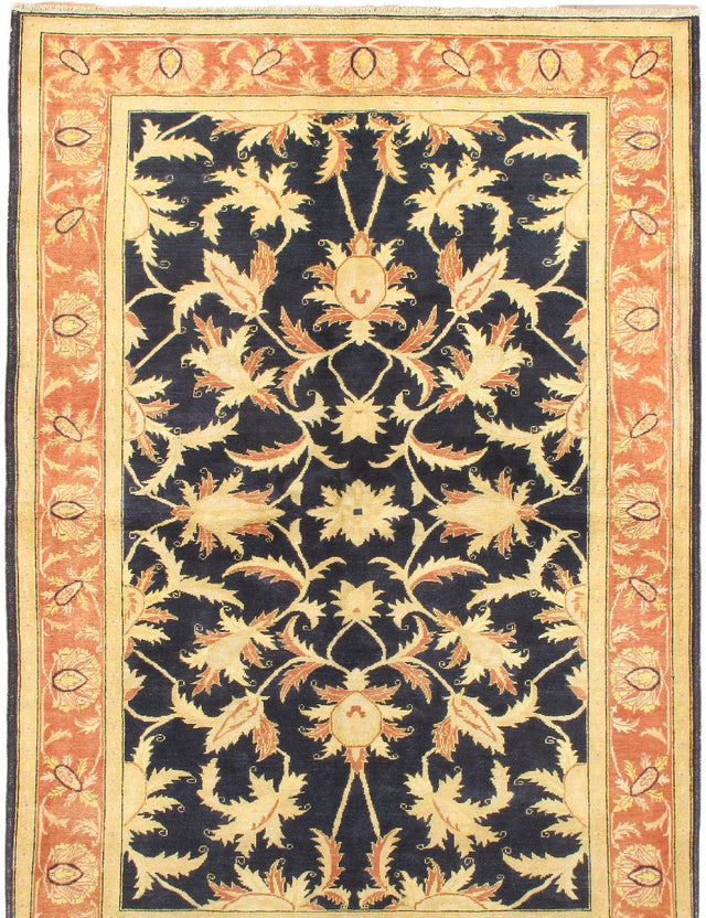 Hand-knotted Area rug Traditional Blue, Brown, Multi