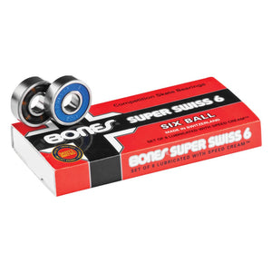 Bones Swiss Skateboard Longboard Bearings