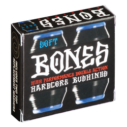 Bones Hardcore Bushings Black - Soft 81A